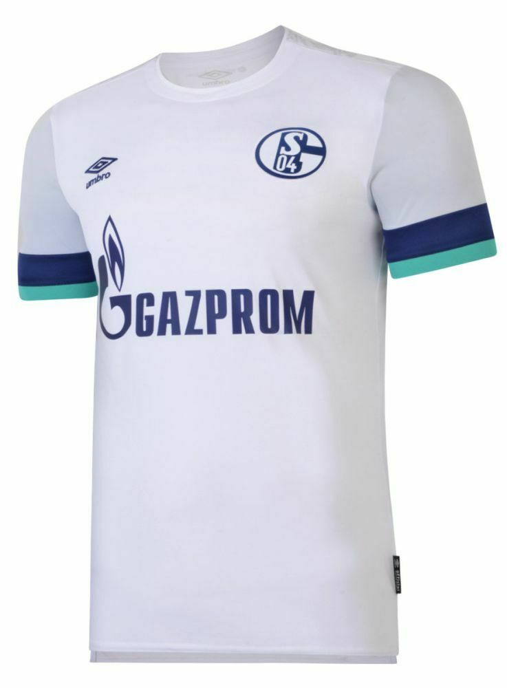 UMBRO Footbtutti Calcio FC Schalke 04 S04 uomini AWAY JERSEY SHIRT TOP 2019 2020