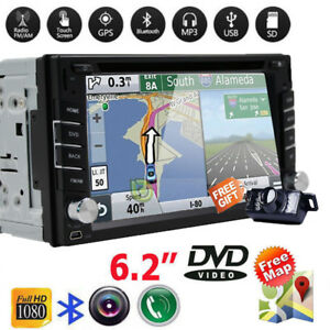 gps navigation double 2din car stereo dvd cd player bluetooth autoimage is loading gps navigation double 2din car stereo dvd cd