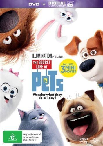 1 of 1 - The Secret Life Of Pets (DVD, 2016) NO UV Copy Aust Region 4