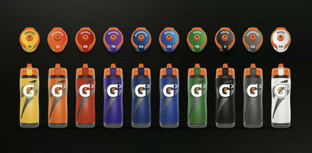 CUSTOMIZED Gatorade GX Water Bottle With Pods