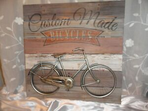 Bicycle-Rustic-Wall-Decor-Bicycle-Decor-Wood-Metal-Wall-Art-Rustic-sign