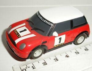 """Micro Scalextric-bmw Mini Cooper """"rallye"""" #1 - Exc. Cdn.-afficher Le Titre D'origine Jouir D'Une Haute RéPutation Sur Le Marché International"""