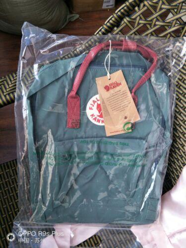 7//16//20L Fjallraven Kanken Canvas Backpack Sport Travel Handbag Mini//Classic UK