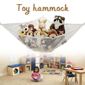 Image is loading Large-Toy-Soft-Teddy-Hammock-Mesh-Child-Bedroom-  sc 1 st  eBay & Large Toy Soft Teddy Hammock Mesh Child Bedroom Ball Storage Nursery ...