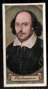 Tobacco-Card-Carreras-CELEBRITIES-OF-BRITISH-HISTORY-1935-William-Shakespeare-11