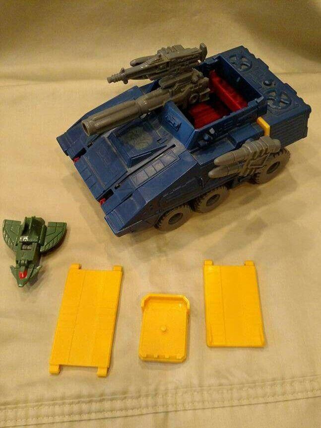 G1 transformers vintage micromasters groundshaker komplett