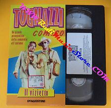 film VHS IL VIZIETTO Ugo Tognazzi 1998 DEAGOSTINI I TOC01 (F88) no dvd