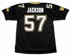 Details about RICKEY JACKSON New Orleans Saints 1991 Throwback Home NFL Football Jersey