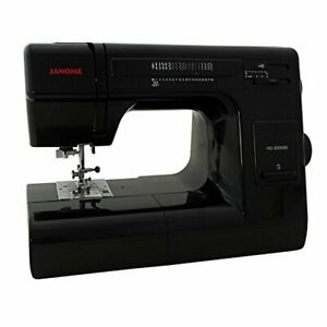Janome-HD3000BE-Heavy-Duty-Sewing-Machine-Black-New