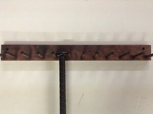 Image Is Loading Baseball Bat Rack Display Holder 11 Bats Pine