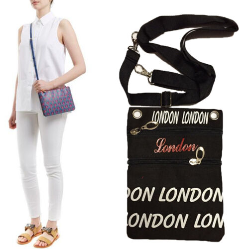 CROSS BODY BAG WOMEN/'S GIRL/'S SHOULDER BAGS MESSENGER LONDON HANDBAG EXTENDABLE