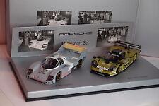 SET MINICHAMPS PORSCHE 911 GT1 1998 ET 956 KH 1982 1/43