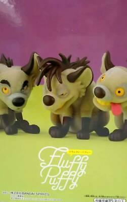 Disney Fluffy Puffy LION KING Villains Banzai Shenzi Ed set of 3 Banpresto