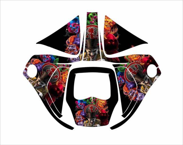 3m Speedglas 9100 V X Xx Auto Sw Jig Welding Helmet Decal Sticker Clown Faces For Sale Online Ebay