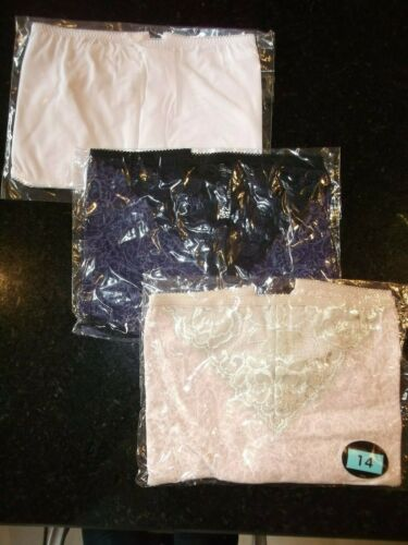 COTTON MIX 18 or 20 6 LADIES NEW EX STORE KNICKERS,BRIEFS.SHORTS Sizes 16