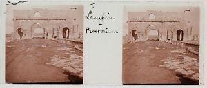 Lambaesis Ruines Romana Algeria Foto n1 Placca Da Lente Stereo