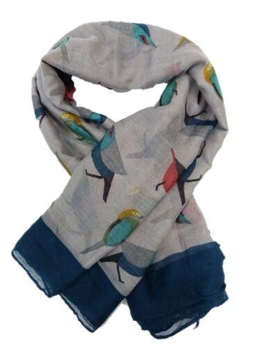NEW STYLISH WOMEN/'S MULTI COLOR FLORAL BIRD PRINT SCARF NECK SHAWL SOFT STOLE