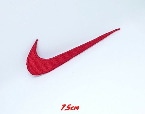 Sports badges logo colourful nike red Embroidered sew on iron on Patch