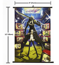 Persona 5 The Golden Japanese Hot Anime Art Wall Home Decor Scroll Silk Poster 2