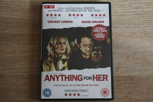 1 of 1 - Anything For Her (2010) - Region 2 (UK) DVD - FREE UK 1ST CLASS P&P