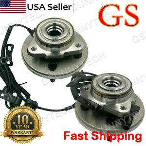 Front Wheel Bearing and Hub Assembly fits 2003 Ford Explorer Notes: Heavy Duty 4.0, 4.6