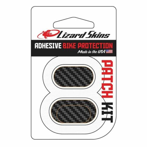 Lizard skins Adhesive Bike Protection Patch Kit Carbon