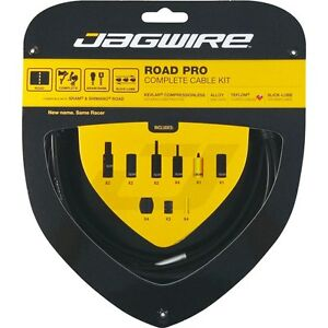 Jagwire-Road-Pro-Bike-Cable-Kit-Gear-amp-Brake-Inner-amp-Outer-All-Colours