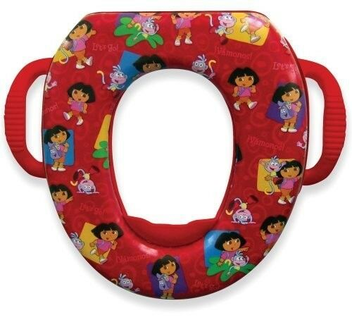 Ginsey Dora Soft Potty Buddies  Seat Training Girl Child Toddler