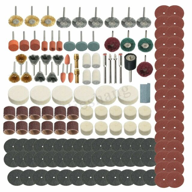 347Pcs Grinding Sanding Polishing Rotary Tool Wheel Accessory Kit Set For