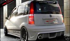 "Fiat Panda TUNING Paraurti SPORTIVO Posteriore Tuning s ""Racer""  VETRORESINA"