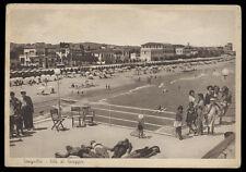 cartolina SENIGALLIA vita di spiaggia