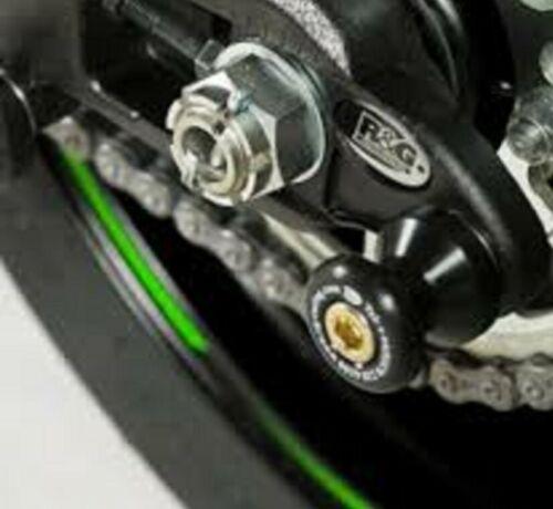 KAWASAKI ZX10-R 2011-2015 R/&G Racing Offset Cotton Reels//Paddock Stand Bobbins