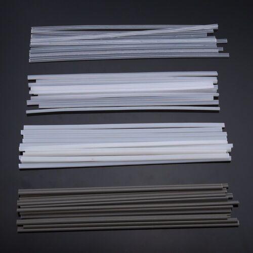 50pcs Plastic Welding Rods ABS//PP//PVC//PE Welding Sticks For Plastic Welder Tool