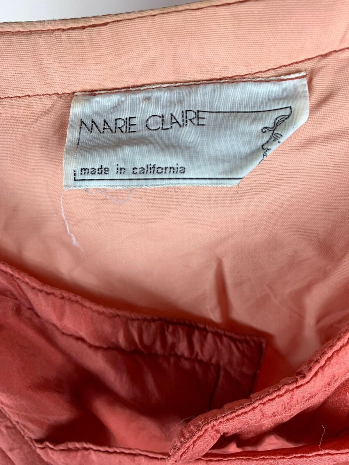 Vintage Womens Marie Claire Pink Jacket Made In C… - image 5