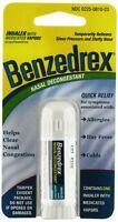 5 Pack - Benzedrex Inhaler Nasal Congestion Relief Sinus Cold Allergies 1 Each on sale