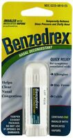 5 Pack - Benzedrex Inhaler Nasal Congestion Relief Sinus Cold Allergies 1 Each on sale