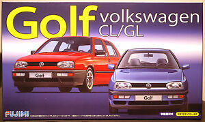 1991 VW Golf 3 CL / GL, 1:24, Fujimi 126395