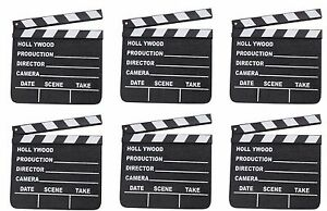 NEW HOLLYWOOD CLAPBOARD CLAPPER CLAP BOARD MOVIE SIGN DIRECTOR/'S PROP CHALKBOARD