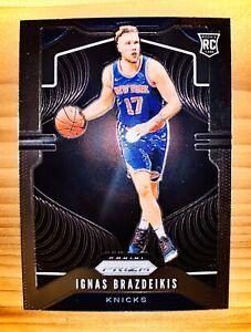 IGNAS-BRAZDEIKIS-Rookie-2019-20-Panini-Prizm-NBA-Basketball-RC-284-KNICKS-MINT