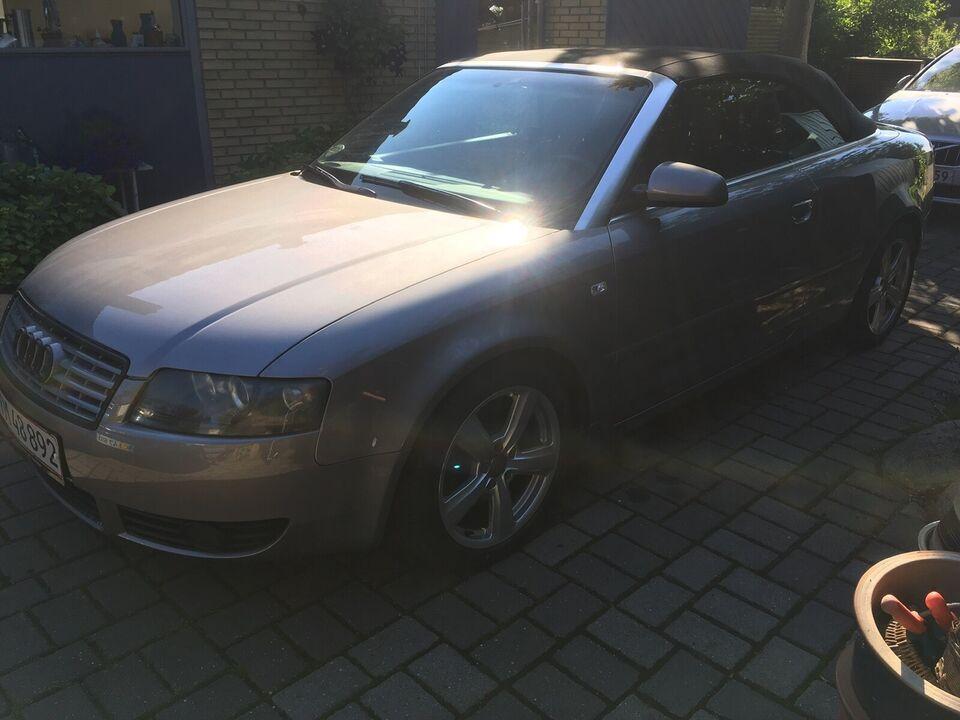 Audi A4, 2,4 V6 Cabriolet, Benzin