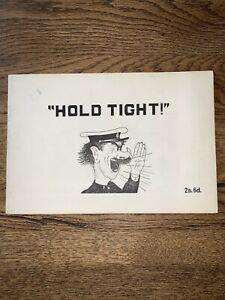 HOLD-TIGHT-NATIONAL-TRAMWAYS-MUSEUM-TRAM-COMIC-BOOK-MARK-PEARSON-BOOKLET-C-1970
