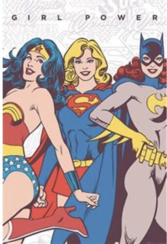 Girl Power DC Comics Poster By Impact Posters 91 X 61 Cm New In Packaging