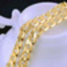 Gold filed 18kt Necklace 20' Curb chain for Men