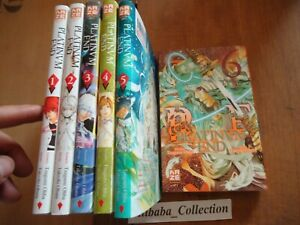 Lote-Manga-Platino-End-1-2-3-4-5-6-Tsugumi-la-Takeshi-Obata-Kaze-Death-Note