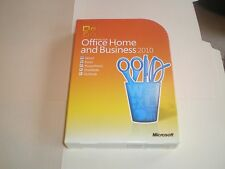 Microsoft Office Home and Business 2010 for  2 PCs - GENUINE - 32/64 bit