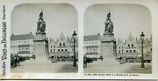 stereoview PHOTO STEREOSCOPIQUE / BELGIQUE BRUGES MONT A J. BREIDEL ET P. CONINC