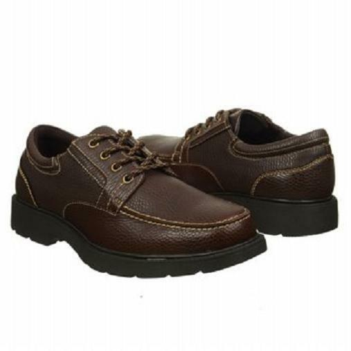 Dr. Scholl's Torch oxfords brown leather GEL 12 Med NEW