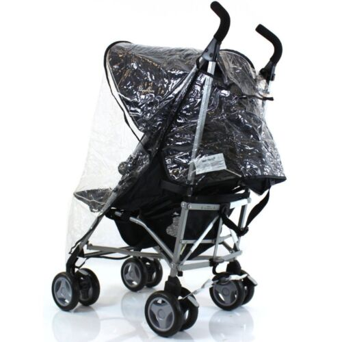 Universal Raincover Silver Cross Pop Pushchair Buggy Ventilated Top Quality