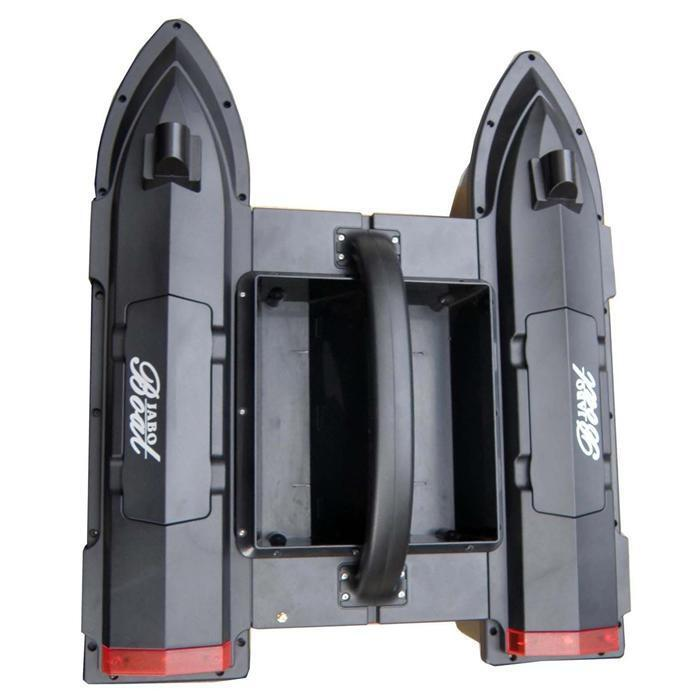 JABO-5A 2.4G ISM  Remote Control Fishing Bait Boat Nuovo
