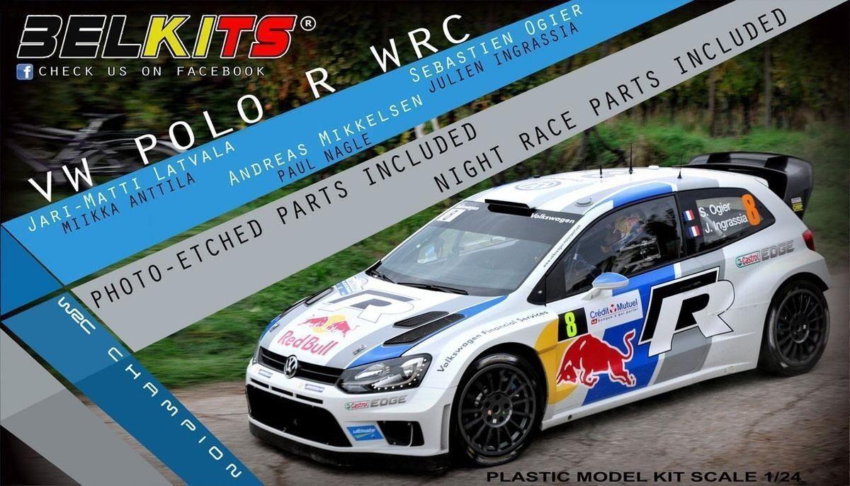 BELKITS VW POLO R WRC 1 24 COD.BEL005
